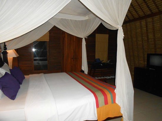 Beji Ubud Resort: Lumbung room - upstair