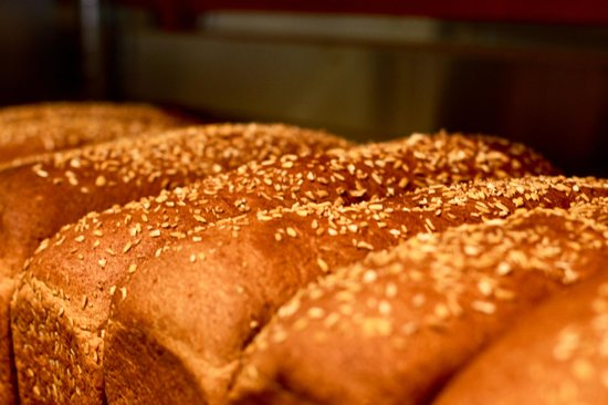 Polly's Pies : Kracked Wheat Bread fresh out of the oven... getting ready for your sandwich!