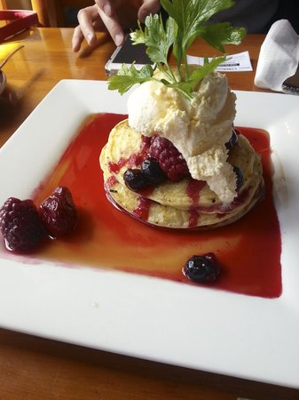 Delicious gluten free pancakes - Picture of Reflections Restaurant ...