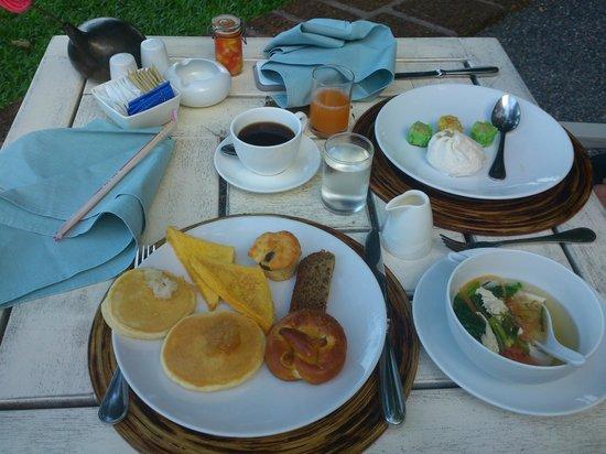 Belmond Napasai: Desayuno