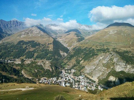 auberge de l'archaz : Vue sur Valloire
