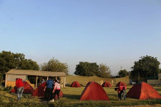 Adventure Camp Sohna: Camp Site