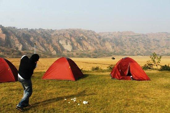 Adventure Camp Sohna: Camping