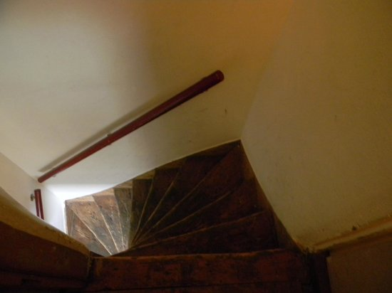 The Blue Sheep Bed & Breakfast Amsterdam: escalier très raide!