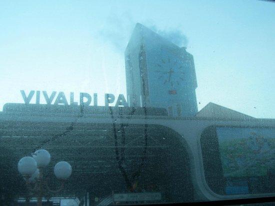 Daemyung Resort Vivaldi Park: Sign board