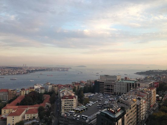 InterContinental Istanbul: вид из бара на верхнем этаже