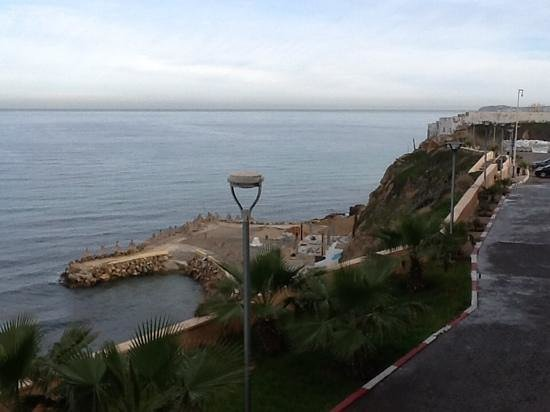 Hotel New-Beach : le positif: la vue