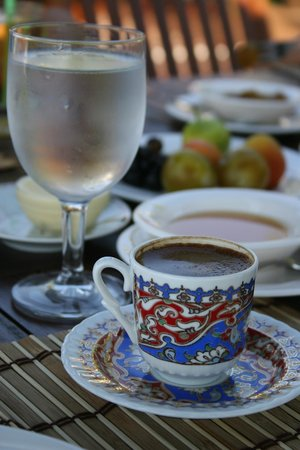 Diva Residence Hotel: Great Turkish coffee.