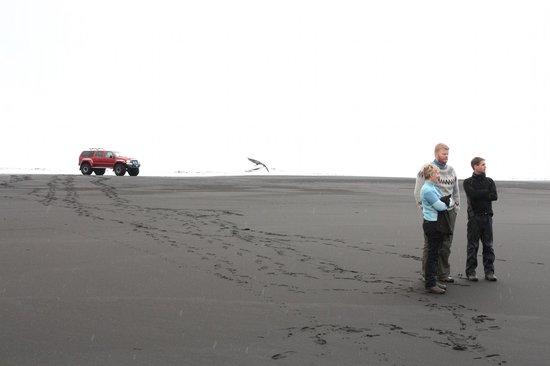Midgard Adventure: Black sand beach
