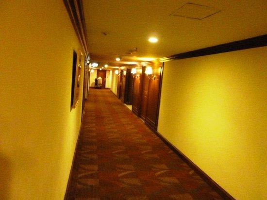 President Solitaire Hotel & Spa: Corridor