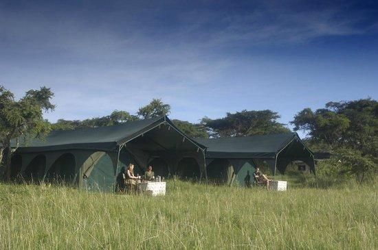Tents at Kirurumu Ngorongoro Camp