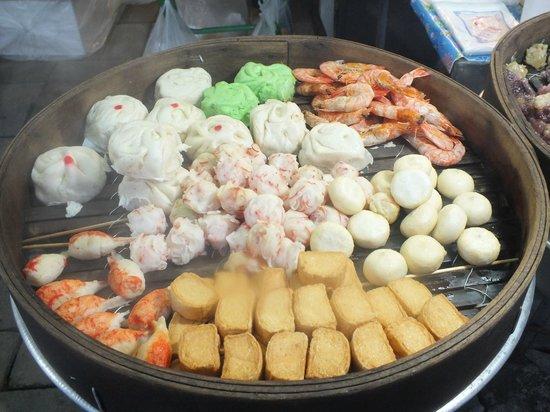 Kantary Bay, Phuket : Night Market food