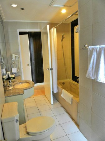Astoria Plaza: Bathroom with tub