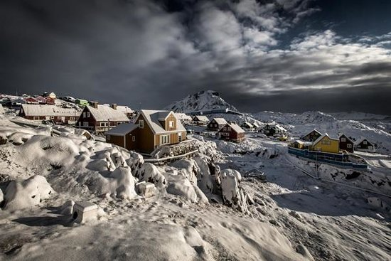 Greenland: Sisimiut in winter by Mads Pihl