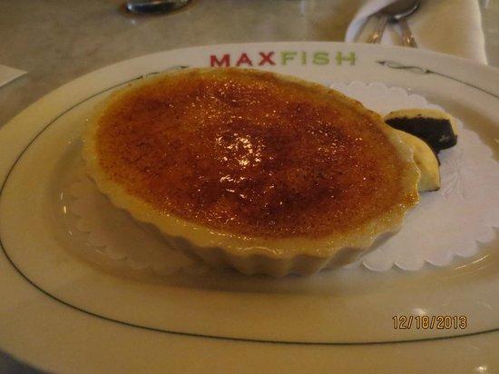 Max Fish: Creme brulee