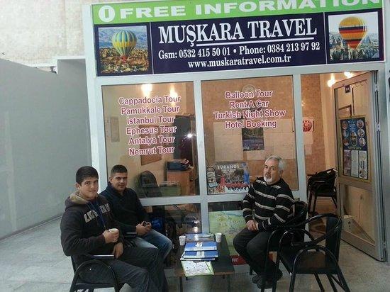 Muskara Travel Cappadocia Day Tours: Muskara Travel Agency Cemal