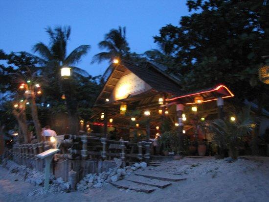 Green Chilli Restaurant: The restaurant at night
