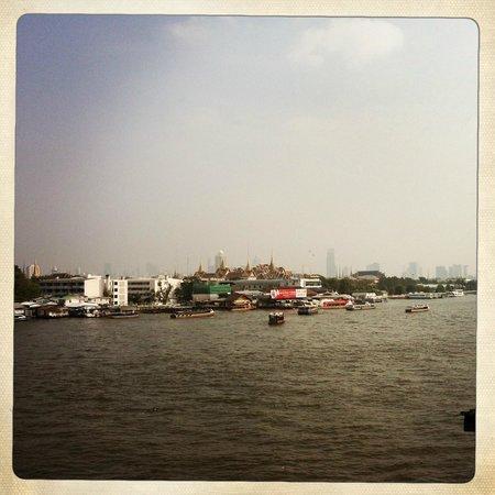 Baan Wanglang Riverside: Aussicht aus dem Zimmer