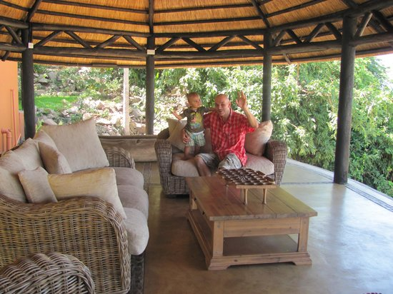 Blue Zebra Island Lodge: Ciao see you soon and thanks for all