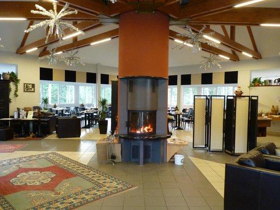 Hotel de la Vallee Noble : Accueil et salon