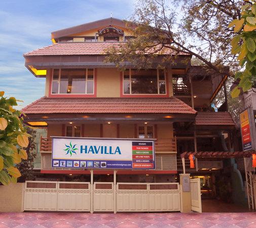 Havilla Bed & Breakfast : Havilla Front View