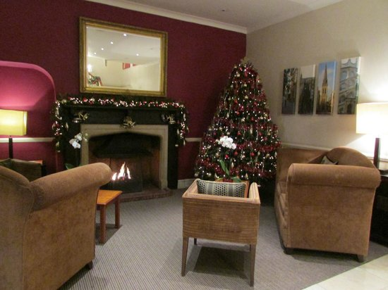 Hawkwell House Hotel: Relaxing lounge area
