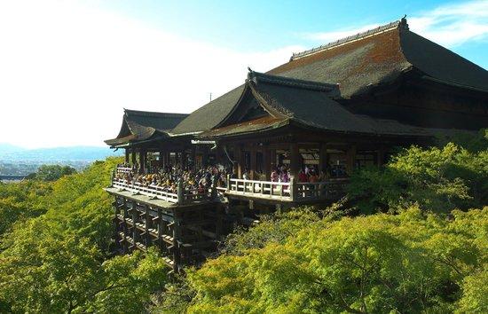 Higashiyama, Japón: Kiyomizu-dera Temple.