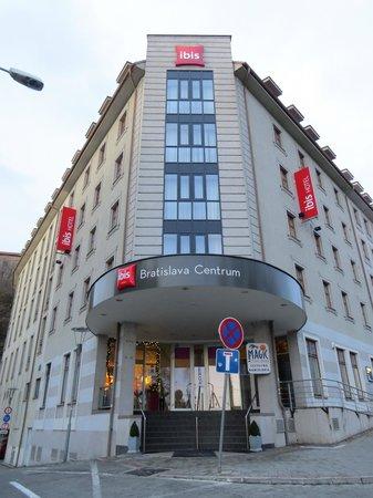 Ibis Bratislava Centrum : Вид отеля