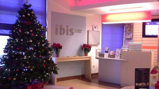 Ibis Bratislava Centrum : Ресепшн
