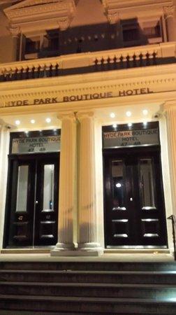 Hyde Park Boutique Hotel: esterno