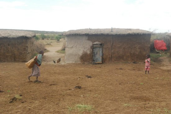 Mara Intrepids Luxury Tented Camp: Inside the Masia village