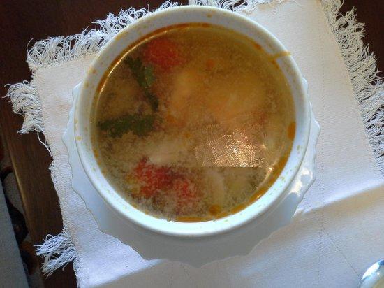Royal Wing Suites & Spa: непонятный суп