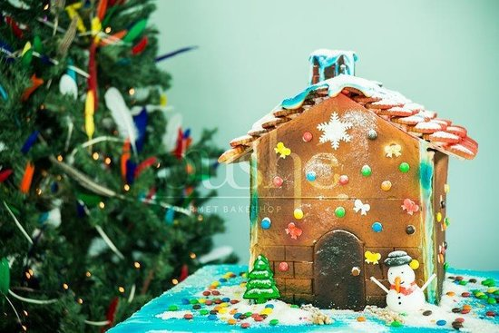 Do it yourself ginger bread house kit delicious icing tube holidays oushe gourmet bakeshop do it yourself ginger bread house kit delicious icing tube solutioingenieria Gallery