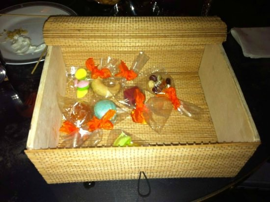 The Langham, London: Poorly made home made sweets £10!!!!!