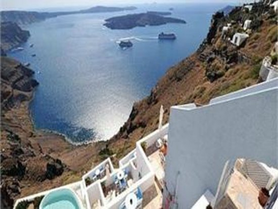 Irini's Villas Resort : HOTEL VIEW