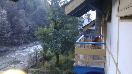 Hotel Beas (HPTDC): View from room