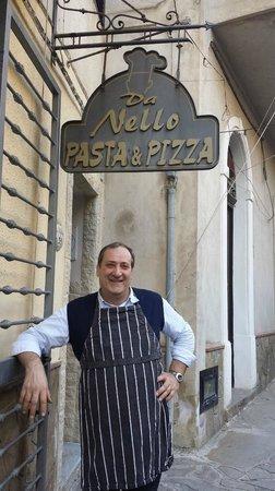 """Pasta e Pizze da Nello : """"Nello"""" il simpaticone"""