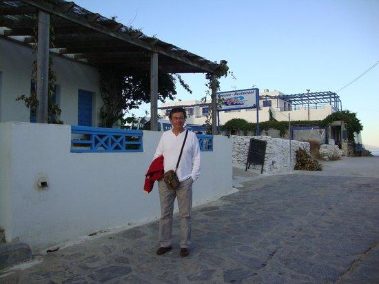 Meltemi Pension: Evening Walking