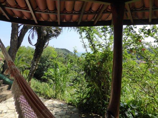 Pousada Colibri: Meerblick vom Bungalow
