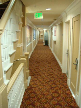 Adante Hotel: Corredor