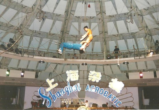 Bingjiang Da Dao : Istantanea del Circo acrobatico di Shanghai