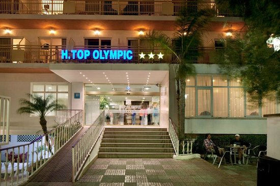 H·TOP Olympic: Main Entrance