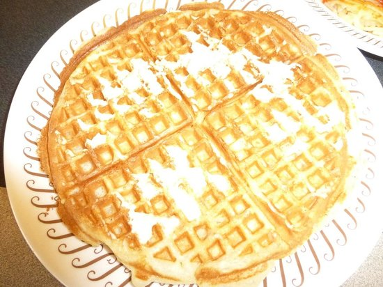 Waffle from Waffle House Elkton