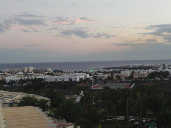 Hotel Beatriz Costa & Spa: Desde la habitación, se ve el mar