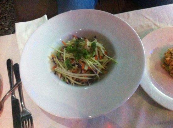 PURE Bar Lounge & Restaurant: Salade vietnamiene