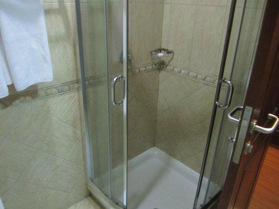 Kibo Palace Hotel: Shower cubicle