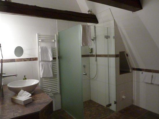 Hotel Scheelehof Stralsund: Bath