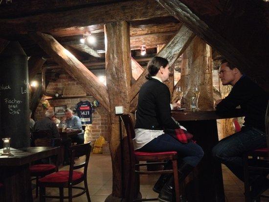 Hotel Scheelehof Stralsund: Pub (also serving food)