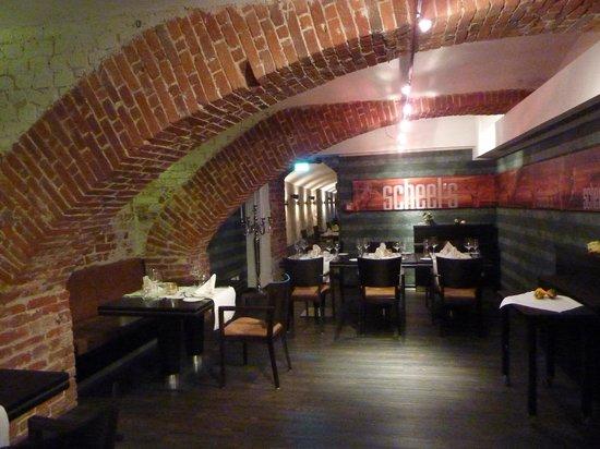 Hotel Scheelehof Stralsund: The Michelin recommended restaurant