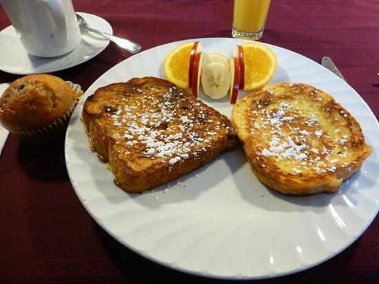 Gite a fleur d'eau : Petit déjeuner